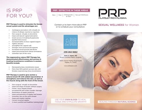 Brochure Sexual Wellness Women