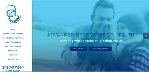 Advanced Regenerative Medicine